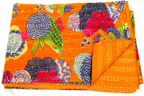 Kantha Quilt How To Make by Indianaura Cushion Cushion Cover Pillow Quilt Bedding