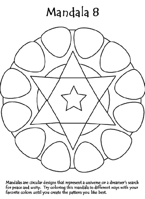 crayola coloring pages that you can print mandala 8 crayola com au