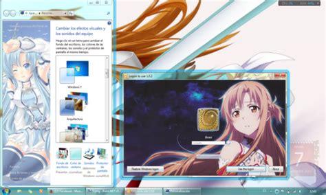 download themes windows 7 sword art online theme win 7 asuna sword art online by goldnight
