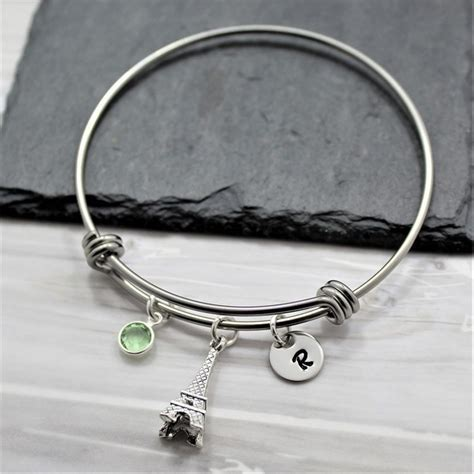 Eiffel Tower Bracelet eiffel tower charm bracelet 187 petagadget