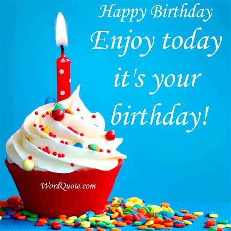 Enjoy Birthday Quotes 43 Happy Birthday Quotes Wishes And Sayings Word