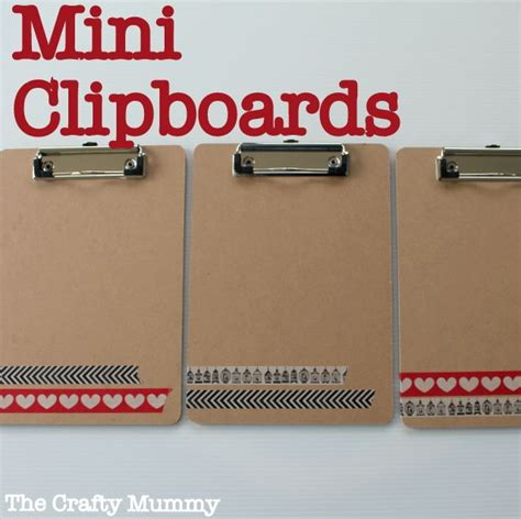 you have to see washi tape clipboard on craftsy mini clipboards with washi tape