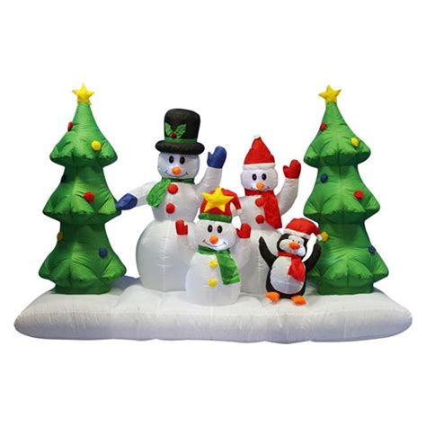 giant inflatable snowman penguin  christmas tree inflatable