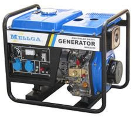 diesel generator 3kw mdg3600cle 3kw mellga china