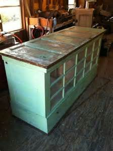 Old Kitchen Island kitchen island made from old doors and windows love this now if i