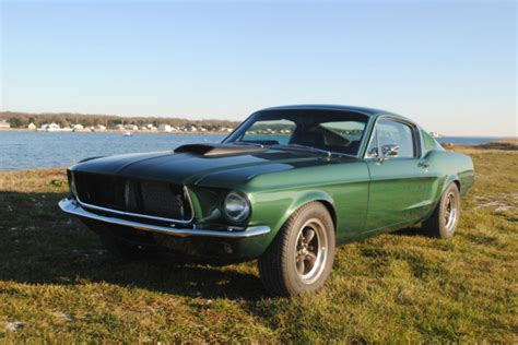 1967 ford mustang fastback green 1967 mustang fastback restored with upgrades moss