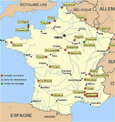 centrale francese la mappa delle centrali nucleari in francia photostory