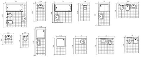 dimensionamento bagni bagni completi progetti di bagni cad dwg 2