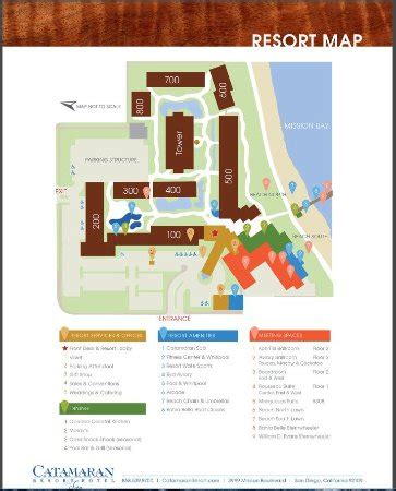 hotel spa layout resort layout picture of catamaran resort hotel and spa