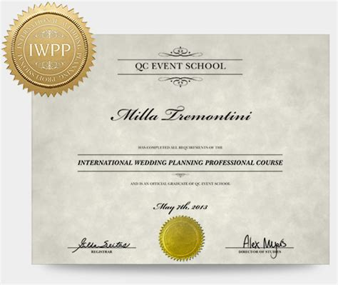 Wedding Planner Courses by Wedding Planning Course Qc Event School