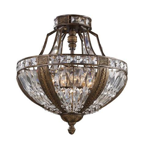 semi flush kitchen lighting shop westmore lighting so paulo 18 in w antique bronze