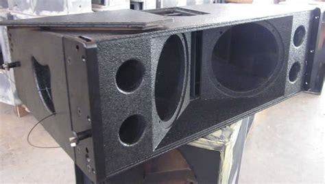 Speaker Harmonic Drive 650 2 Hdt 8inch two way line array empty line array box buy 8inch