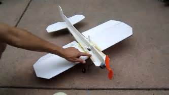 How To Make A Model Airplane Out Of Paper - how to make a crash proof 3d foam rc plane