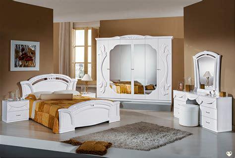 chambre a coucher avec coiffeuse ambra laque blanc ensemble chambre a coucher lignemeuble com
