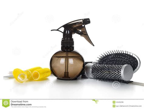 Hair Dresser Tools by Professional Hairdresser Tools Stock Photo Image 45455238