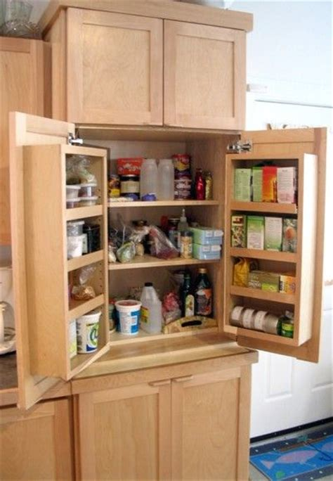 Kitchen Cabinet Storage Ideas Kitchen Pantry Small Kitchen Space For The Home Pinterest