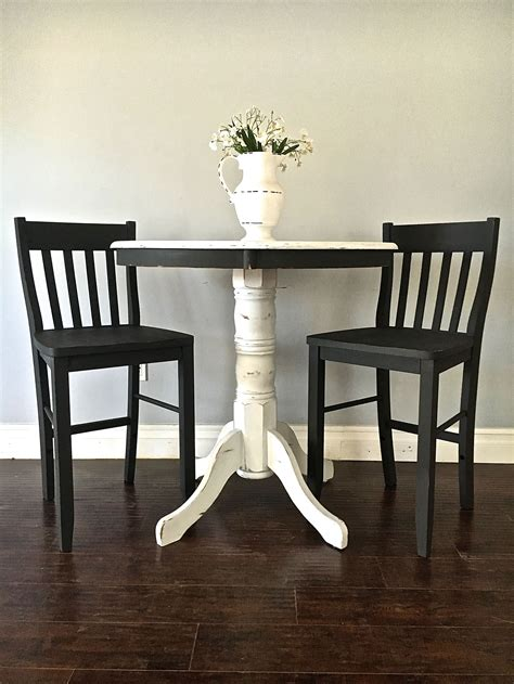 white pub table and chairs white pub table and chairs image collections table