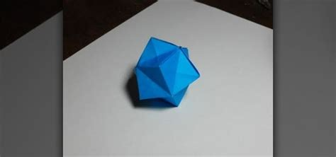 How To Make A Paper Sphere - how to make an easy origami 171 origami