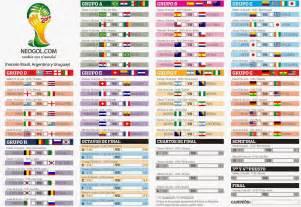 Calendario Guatemala Mundial 2018 Almanaque Mundial Brasil 2014 Todo El Calendario