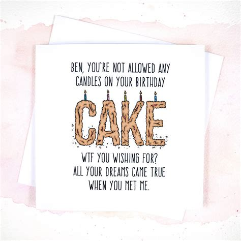 printable birthday cards boyfriend funny boyfriend or girlfriend birthday card by philly
