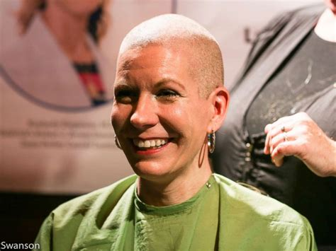 shaving bridesmaid story bride shaves her head 2 months before her wedding to honor