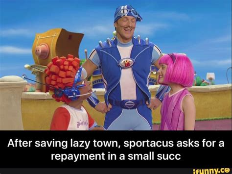 Lazy Town Meme - lazy town ladder meme pictures to pin on pinterest pinsdaddy
