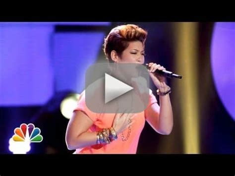 tessanne chin hollywood life tessanne chin the voice frontrunner already the