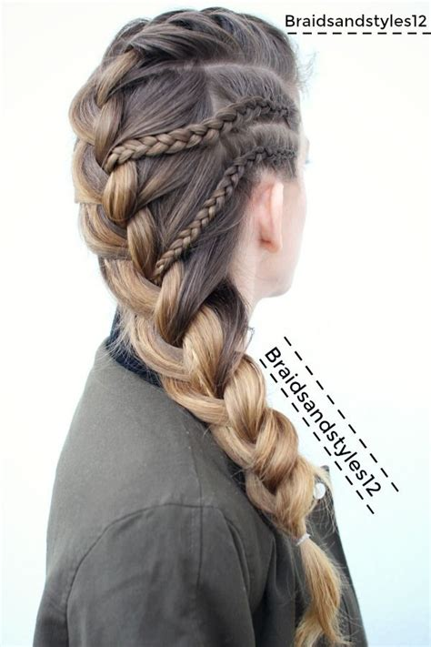 hairstyles for with hair braid braid braided hairstyle by braidsandstyles12