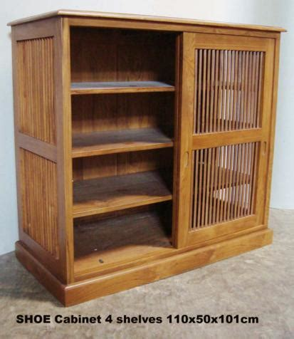 sliding door shoe cabinet shoe cabinet 110x50x101 sliding slat door sept 09