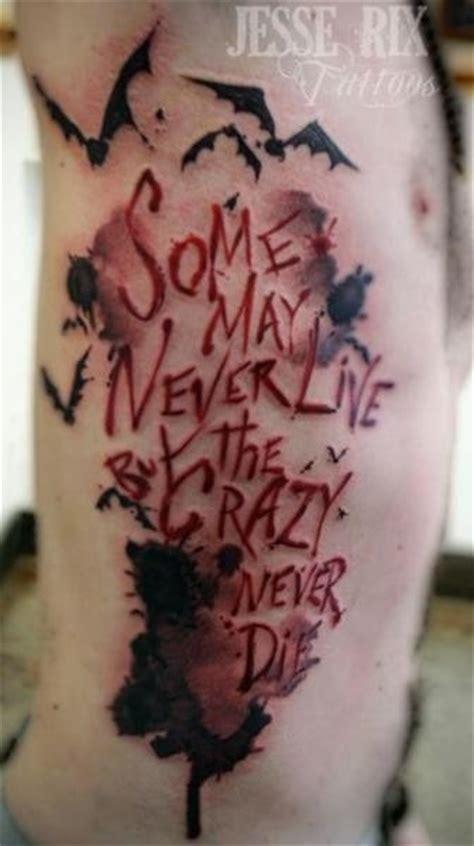 batman writing tattoo batman joker cute tattoo