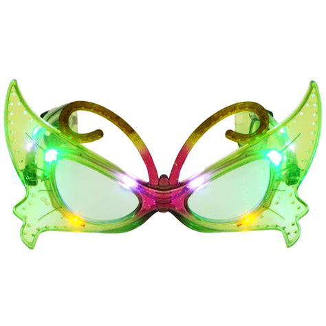 sunglasses with lights led light up butterfly sunglasses sg105