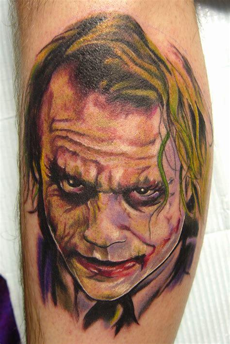 tattoo the joker heath ledger heath ledger joker tattoo by carter moore tattoonow