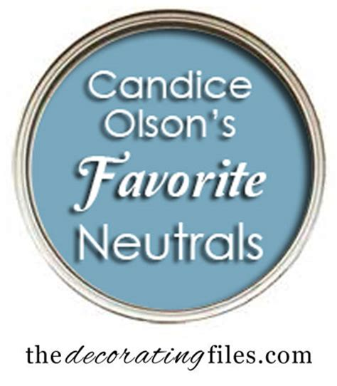 Tips For Picking Paint Colors choosing paint color candace olson s favorite neutrals