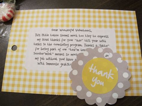 Thank You Note To Ideas Inexpensive Thank You Gift Idea Gifts