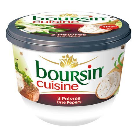 sauce boursin cuisine boursin cuisine 3 poivres cook 233 e