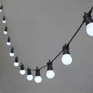 20 led white connectable festoon lights type u