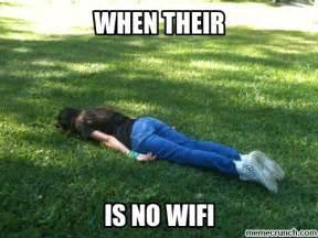 Wifi Meme - no wifi