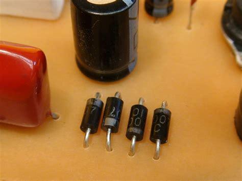 que es capacitor y diodo proyectos diy construya una luz nocturma automatica