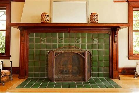 craftsman fireplace tile for sale a grand craftsman with three stories in portland