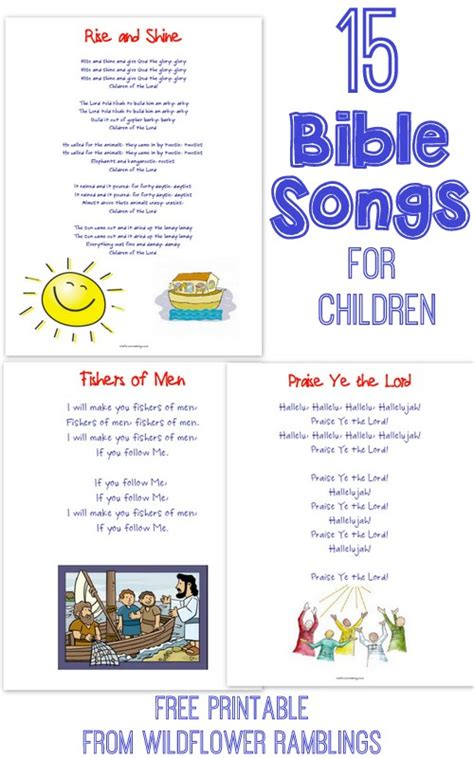 printable toddler songs 15 bible songs to teach little ones with free printable
