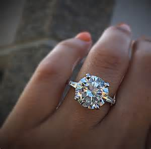 big engagement rings blac chyna 7ct solitaire engagement ring get the look