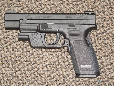 springfield xd 45 acp tactical light springfield armory xd 45 tactical with light an for sale