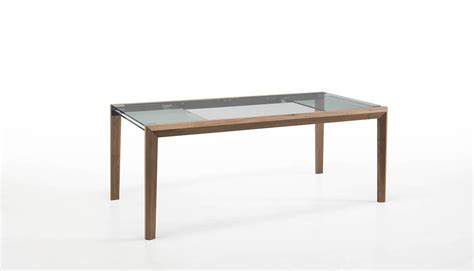 design milk table extendable glass table by nisco for tonelli design