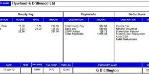 sage layout manager payroll manager software employee payslips selection