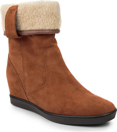 carvela kurt geiger shore suede ankle boots in brown