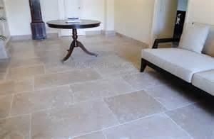Travertine Bathroom mystonefloor com dijon limestone tumbled floor tiles