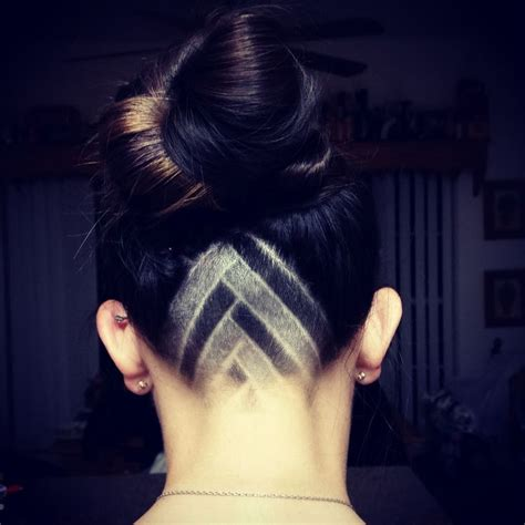 design of hairstyles my favorite triangle undercut design i ve tried so far