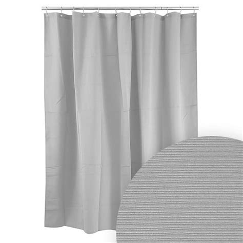 solid grey shower curtain harman grey ribbed shower curtain solid color shower