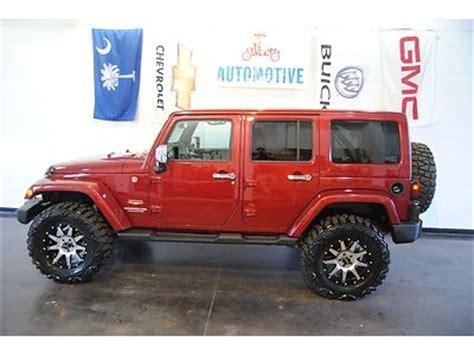 jeep sahara maroon buy used jeep wrangler unlimited sahara 2012 burgundy