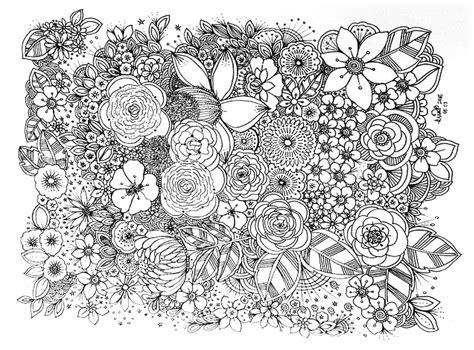 doodle doodle doodle flower doodle coloring pages flower coloring pages doodle
